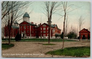 Batavia New York~State School for Blind~Springs Trees About to Bud~Cupolas~c1910