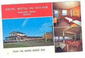 Multi-Views, Hotel Motel Du Rocher, Madeleine Centre, Gaspesie, Quebec, Canad...