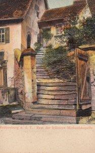 ROTHENBURG O.D. TAUBER, Bavaria, Germany, 1900-10s ; Rest der Fruheren Michae...