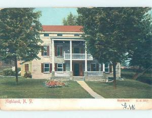 Pre-1907 HISTORIC HOME Highland - Near Port Jervis & Middletown NY W5026