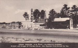 Vomac Groves Citrus Stand U S HIghway 441 Plymouth Florida