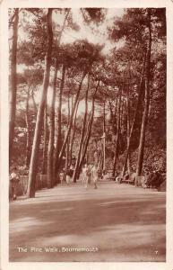 Bournemouth, The Pine Walk, animated pathway 1929