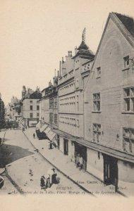 BEAUNE, France, 1900-10s; Le Centre de la Ville, Place Monge et rue de Lorraine