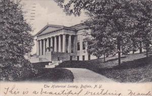 New York Buffalo The Historical Society 1906