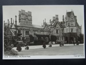 Shropshire LILLESHALL HALL The North Front - Old RP Postcard by Frith