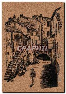 Old Postcard Corsica Corsica Corsica Typical Ruelie