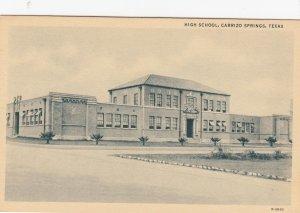 CARRIZO SPRINGS , Texas , 1910-30s ; High School