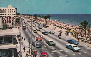 FORT LAUDERDALE , Florida, 1971 ;Highway A1A