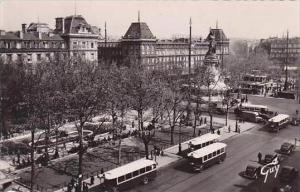France Paris Place de la Republique RPPC