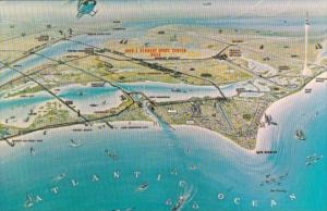 Artist Concept Of NASA's John F Kennedy Space Center Florida