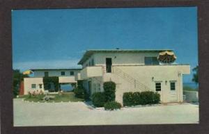 FL Coquina Shores Motel Apts INDIAN ROCKS BEACH FLORIDA