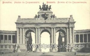 Bruxelles, Belgium, België, la Belgique, Belgien Arcades du Cinquantenaire  ...