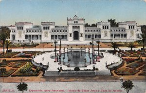 Iberian-American Exposition, Seville, Spain, Early Postcard, Unused