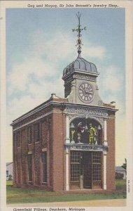 Michigan Dearborn Gog And Magog Sir John Bennetts Jewelry Shop Greenfield VIl...