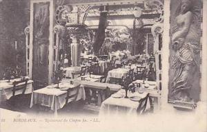 France Bordeaux Restaurant du Chapon fin