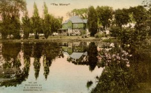 VT - Bennington. The Mirror Residence and Pond of E. T. Griswold