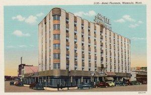 MISSOULA , Montana , 1930s ; Hotel Florence