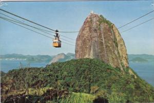 Brazil Rio de Janeeiro Sugar Loaf Cable Car 1960