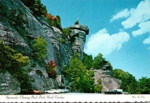 North Carolina Hickory Nut George Chimney Rock