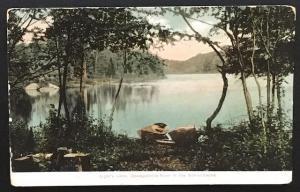 Ligar's Lake Osewgatchie River Adirondacks 1913 American News Co 93473