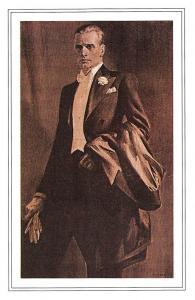Evening Dress Austin Reed's of Regent Street Fashion 1920 Nostalgia Reprint