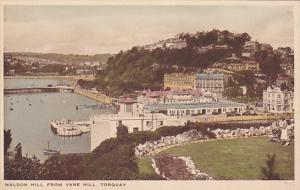 TORQUAY, Devon, England, 1900-1910's; Waldon Hill From Vane Hill