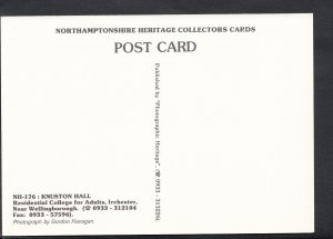Northamptonshire Postcard - Knuston Hall, Residential College For Adults  BH636