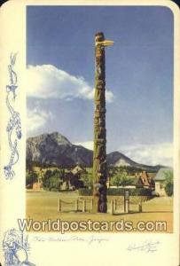 Canada Jasper Totem Pole