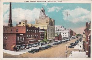 ROCHESTER , Minnesota , 1931 ; First Avenue SouthWest