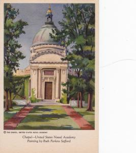 ANNAPOLIS, Maryland, 10s-20s; Chapel, United States Naval Academy