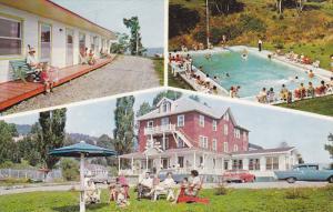 3-Views, Hotel-Motel Beausejour, Swimming Pool,St. Joseph-de-la-Rive, Co. Cha...