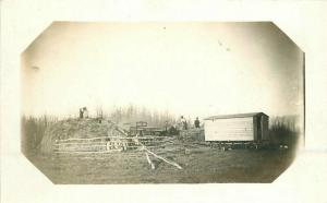 C-1910 Farm Agriculture Haystack Occupation Workers RPPC Photo Postcard 5734