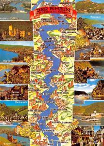 Der Rhein von Mainz bis Koblenz, Braubach Loreley Die Pfalz Bingen Boppard