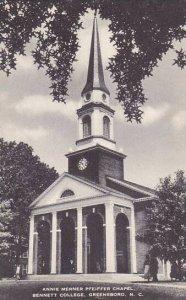North Carolina Greensboro Annie Merner Pfeiffer Chapel Bennett College Albertype