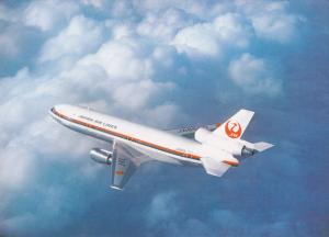 Japan Air Lines [JAL] DC-10 Jet Airplane , 70-80s