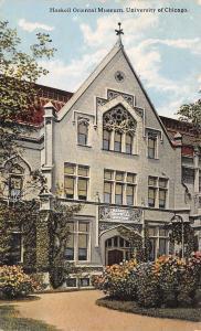 Chicago Illinois~University~Haskell Oriental Museum~1916 Postcard