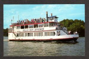 AR Belle HOT SPRINGS ARKANSAS Ship Lk Hamilton Postcard