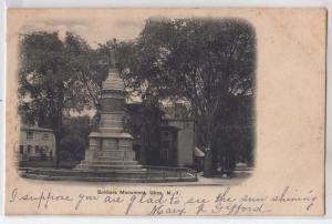 Utica NY - Soldiers Monument