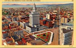 California Oakland City Hall and Memorial Plaza