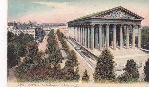 France Paris La Madelaine et la Place