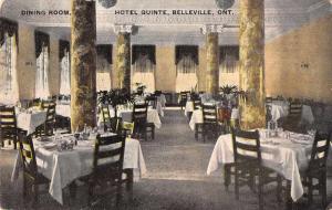Belleville Ontario Canada dining room Hotel Quinte antique pc Z41395