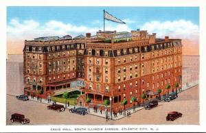 New Jersey Atlantic City Craig Hall South Illinois Avenue