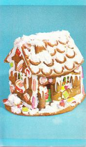 Mrs. Dorothy Damar Gingerbread Houses - Ad Card 1955