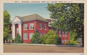 Mcconnell Gymnasium Mars Hill College Mars Hill North Carolina
