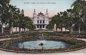 Monaco Monte Carlo Le Casino et les Jardins