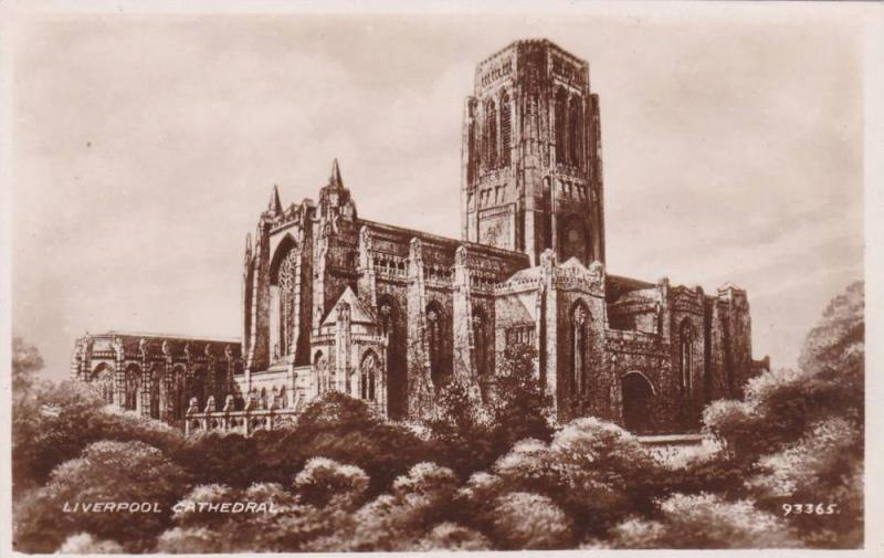 RP, Cathedrale, Liverpool, England, UK, 1920-1940s