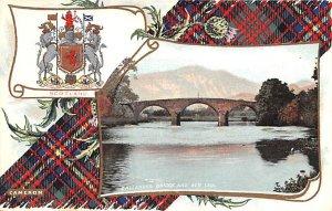Callender Bridge and Ben Ldei Scotland, UK Unused