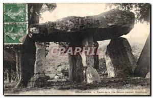 Postcard Old Megalith Dolmen Draguignan Peter's Fee (former dolmen druid)