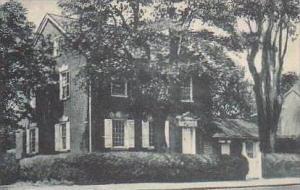 Delaware New Castle Kensey Johns House Built 1789 Albertype