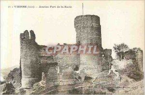 Map Old 14 come Postale (isere) old fort of batie